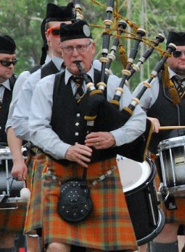 Atlanta Pipe Band G4 Pipe Major