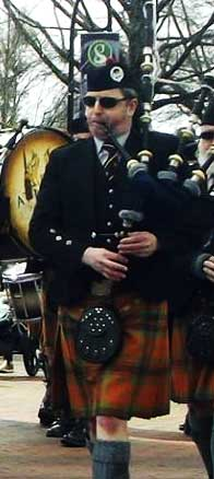 Atlanta Pipe Band Pipe Major